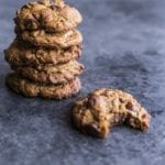 It's impossible to stop at just one of these almond butter chocolate chip cookies. simplegreensmoothies.com