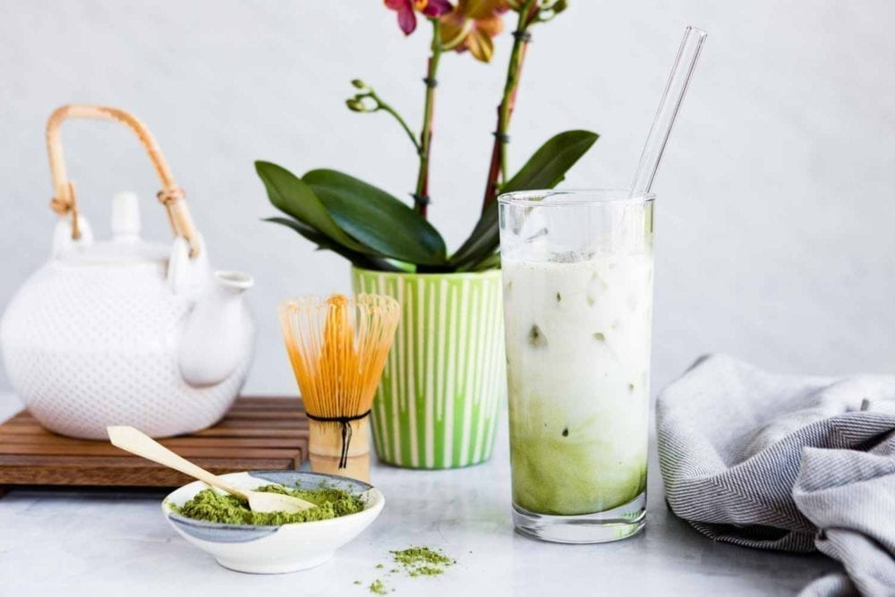 Plant-Based Matcha Latte | SimpleGreenSmoothies.com